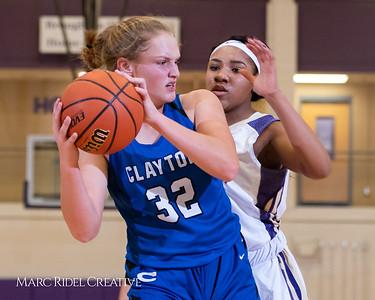 Broughton varsity girls basketball vs Clayton. December 6, 2018, MRC_6373