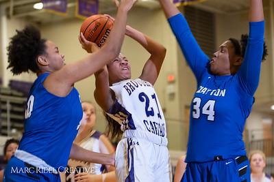 Broughton varsity girls basketball vs Clayton. December 6, 2018, MRC_6390