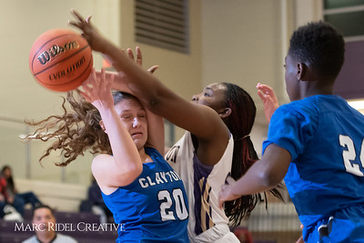 Broughton varsity girls basketball vs Clayton. December 6, 2018, MRC_6336