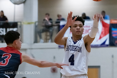 Broughton boys varsity basketball vs Downey Christian. MRC_9062