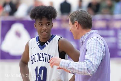 Broughton boys varsity basketball vs Downey Christian. 750_9563