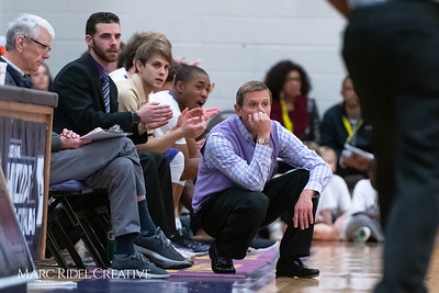 Broughton boys varsity basketball vs Downey Christian. MRC_9083