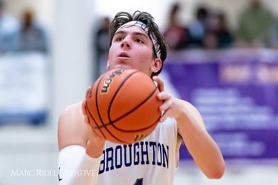 Broughton boys varsity basketball vs Downey Christian. 750_9653
