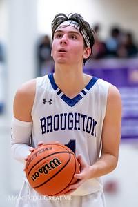 Broughton boys varsity basketball vs Downey Christian. 750_9651