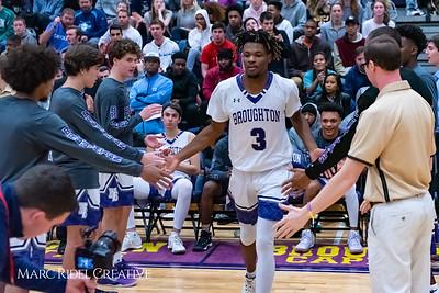Broughton boys varsity basketball vs Downey Christian. 750_9484