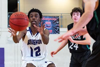 Broughton boys JV basketball vs Enloe. January 4, 2019. 1-4-19 BasketballBV00710