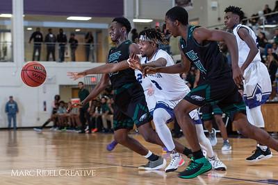 Broughton boys varsity basketball vs Enloe. January 4, 2019. 750_1287