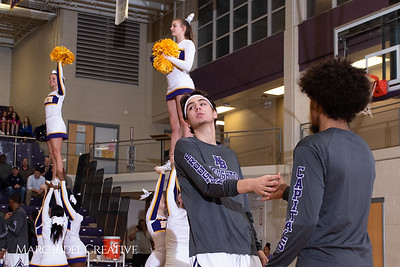 Broughton boys varsity basketball vs Enloe. January 4, 2019. 750_1162