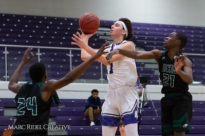 Broughton boys varsity basketball vs Enloe. February 19, 2019. D4S_0049