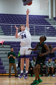 Broughton boys varsity basketball vs Enloe. February 19, 2019. D4S_0034