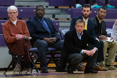 Broughton boys varsity basketball vs Enloe. February 19, 2019. D4S_0042