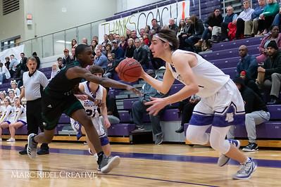 Broughton boys varsity basketball vs Enloe. February 19, 2019. D4S_0062