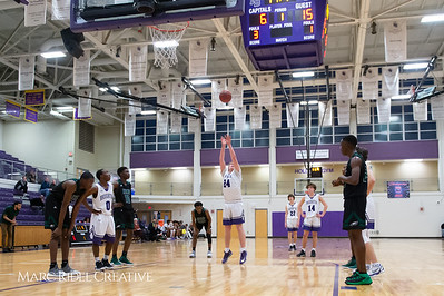 Broughton boys varsity basketball vs Enloe. February 19, 2019. D4S_0058
