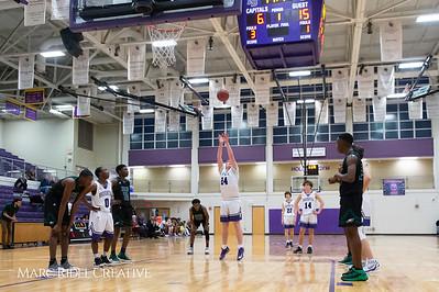 Broughton boys varsity basketball vs Enloe. February 19, 2019. D4S_0058