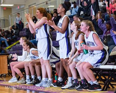 Broughton girls JV basketball vs Enloe. January 4, 2019. 750_0661