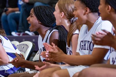 Broughton girls JV basketball vs Enloe. January 4, 2019. 750_0696