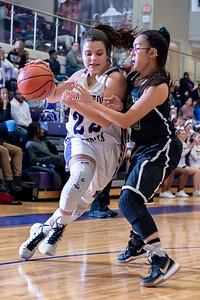 Broughton girls varsity basketball vs Enloe. January 4, 2019. 750_1065