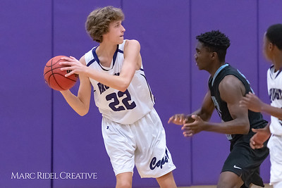 Broughton JV basketball vs Green Hope. November 20, 2018, MRC_7959