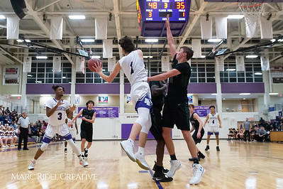 Broughton basketball vs Green Hope. February 26, 2019. D4S_2019
