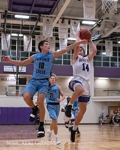 Broughton varsity basketball vs Green Hope. November 20, 2018, MRC_8451
