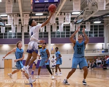 Broughton varsity basketball vs Green Hope. November 20, 2018, MRC_8434