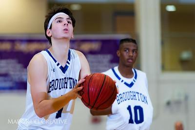 Broughton boys varsity basketball vs Hoggard. 750_9286