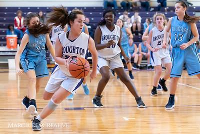 Broughton girls JV basketball vs Hoggard. 750_8026