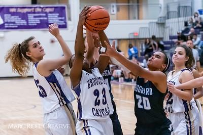 Broughton girls varsity basketball vs Hoggard. 750_8843