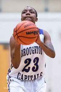 Broughton girls varsity basketball vs Hoggard. 750_8834