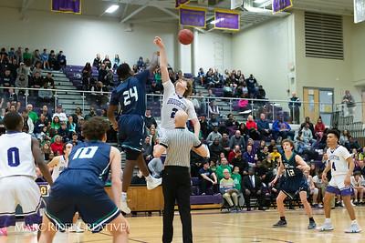 Broughton boys varsity basketball vs Leesville. Cap-7 Championship Game. February 22, 2019. D4S_1168