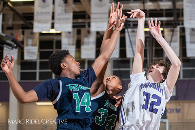 Broughton boys JV basketball vs Leesville. February 4, 2019. 750_2154