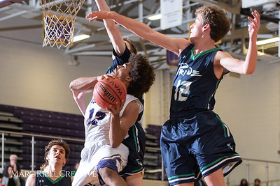 Broughton boys varsity basketball vs. Leesville. January 8, 2019. 750_1724