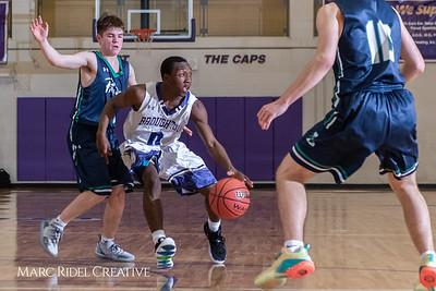 Broughton boys varsity basketball vs. Leesville. January 8, 2019. 750_1844