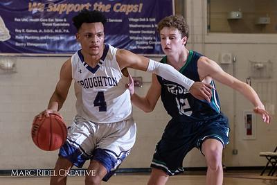 Broughton boys varsity basketball vs. Leesville. January 8, 2019. 750_1801