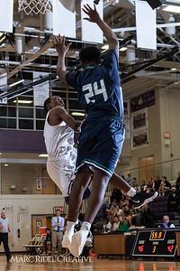 Broughton boys varsity basketball vs. Leesville. January 8, 2019. 750_1821