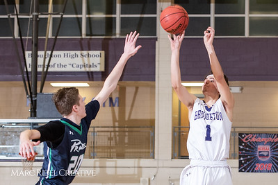 Broughton boys varsity basketball vs. Leesville. January 8, 2019. 750_1758