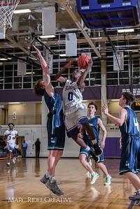 Broughton boys varsity basketball vs. Leesville. January 8, 2019. 750_1848