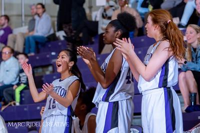 Broughton girls JV basketball vs Leesville. February 4, 2019. 750_2065