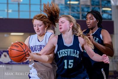 Broughton girls JV basketball vs Leesville. February 4, 2019. 750_1980