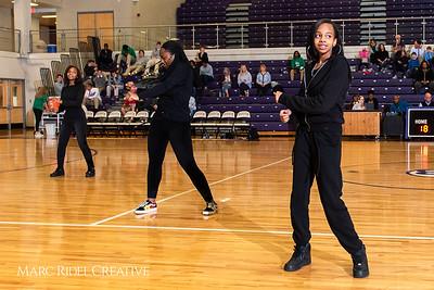 Broughton girls varsity basketball vs. Leesville. January 8, 2019. 750_1543