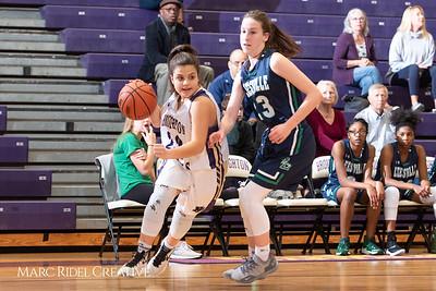 Broughton girls varsity basketball vs. Leesville. January 8, 2019. 750_1501