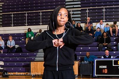Broughton girls varsity basketball vs. Leesville. January 8, 2019. 750_1544