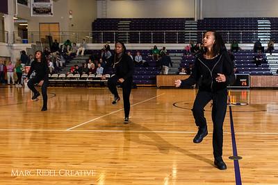 Broughton girls varsity basketball vs. Leesville. January 8, 2019. 750_1562