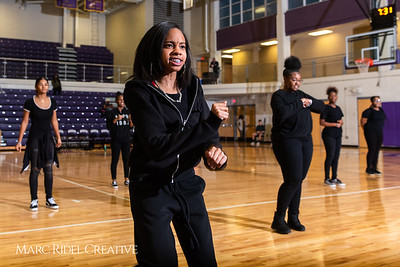 Broughton girls varsity basketball vs. Leesville. January 8, 2019. 750_1552