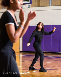 Broughton girls varsity basketball vs. Leesville. January 8, 2019. 750_1581
