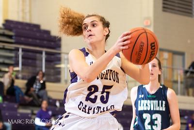 Broughton girls varsity basketball vs. Leesville. January 8, 2019. 750_1504