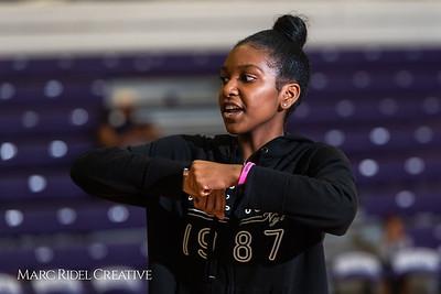 Broughton girls varsity basketball vs. Leesville. January 8, 2019. 750_1571