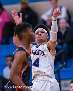 Broughton boys varsity basketball vs Middle Creek. January 21, 2019. 750_5282