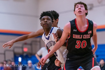 Broughton boys varsity basketball vs Middle Creek. January 21, 2019. 750_5224