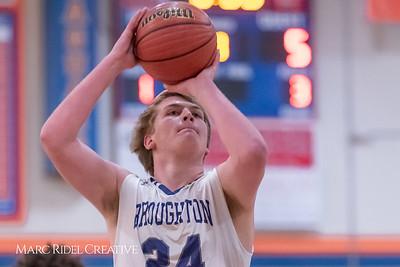 Broughton boys varsity basketball vs Middle Creek. January 21, 2019. 750_5207